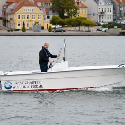Udlejning af lystfisker både på Als - Sønderborg i Syddanmark - Artedo 520